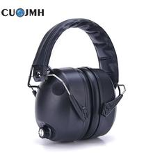 Intelligence Drum Kit Hearing Protection Ear Noise Reduction Headphones Soundproof Ear Muff Tactical Shooting Headset