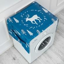 Хлопок белье барабаны Чехол для стиральной машины водостойкий прикроватный Стол Крышка полотенца пылезащитный чехол для холодильника ткань пыле b