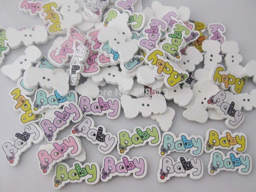 WB0272 маленьких пуговицы ДЕРЕВЯННЫЕ multicolor 150 шт. 2 отверстия швейные кнопки для одежды/Craft/Скрапбукинг