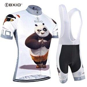 Image 1 - BXIO 2020 מצחיק רכיבה על אופניים גופיות Ropa דה Ciclismo שומן דוב שודדי מאן פרו רכיבה על אופניים Completo Ciclismo Estivo 081