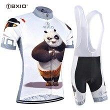 Забавные велосипедные майки BXIO 2020 Ropa De Ciclismo Fat Bear Raiders Mans Pro, комплекты одежды для велоспорта Completo Ciclismo Estivo 081