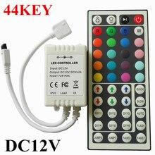 Индикаторы контроллера ик-пульт ключей диммер ик светодиодных газа rgb smd контроллер