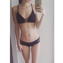 Woman Bikinis Sexy Bandage Swimsuit Swimwear Halter Brazilian Bikini Beach Bathing Suits Biquini Maillot De Bain