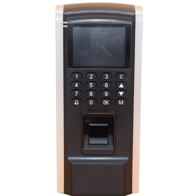 Écran couleur TFT TCP IP USB 125 Khz Rfid contrôle d'accès autonome employé assistance au temps d'empreintes digitales Wiegand