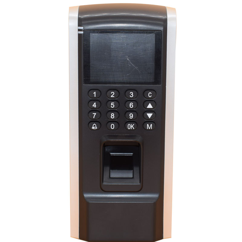 TFT Color Display TCP IP USB 125Khz Rfid Stand-alone Access Control Employee Fingerprint Time Attendance Support Wiegand