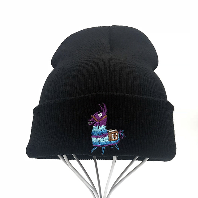 Llama Alpaca Rainbow Horse Cap Men Women Casual Hip Hop Hats Knitted  Skullies Beanies Hat Warm c8139610a294