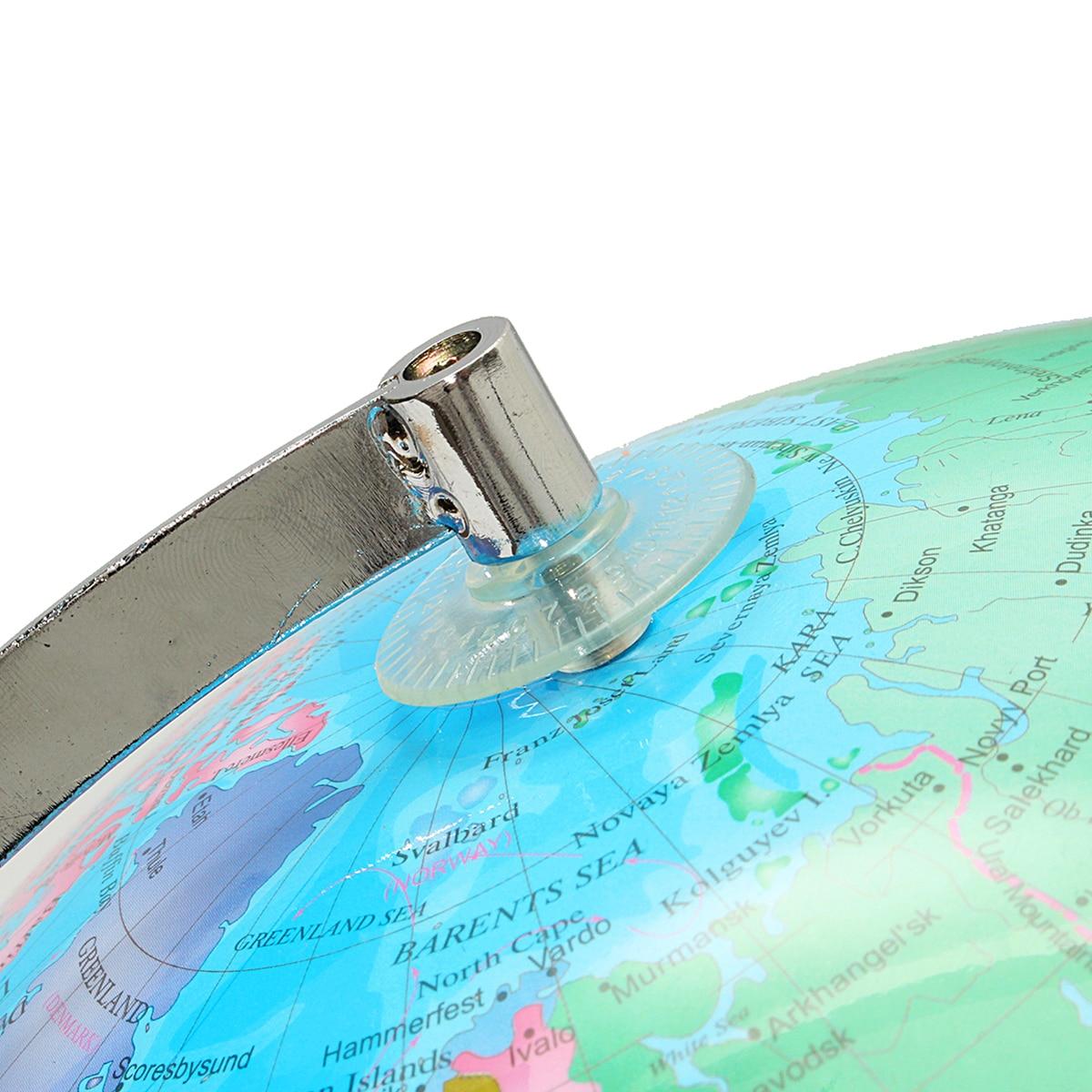 32 cm Électrique LED Lumière Monde Globe Terre Carte Enseigner L'éducation Géographie Toy Terrestre Tellurion Globe home Office Décor de Bureau - 6