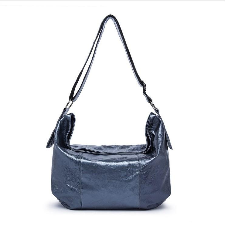 Designer Women Genuine Leather Handbags Large Shoulder Bag Cowhide Ladies Tote Bags Black blue Casual Shopping Bag Bolsos genuine leather women handbags bag fashion leopard cowhide tote bag ladies shoulder bags 13b316