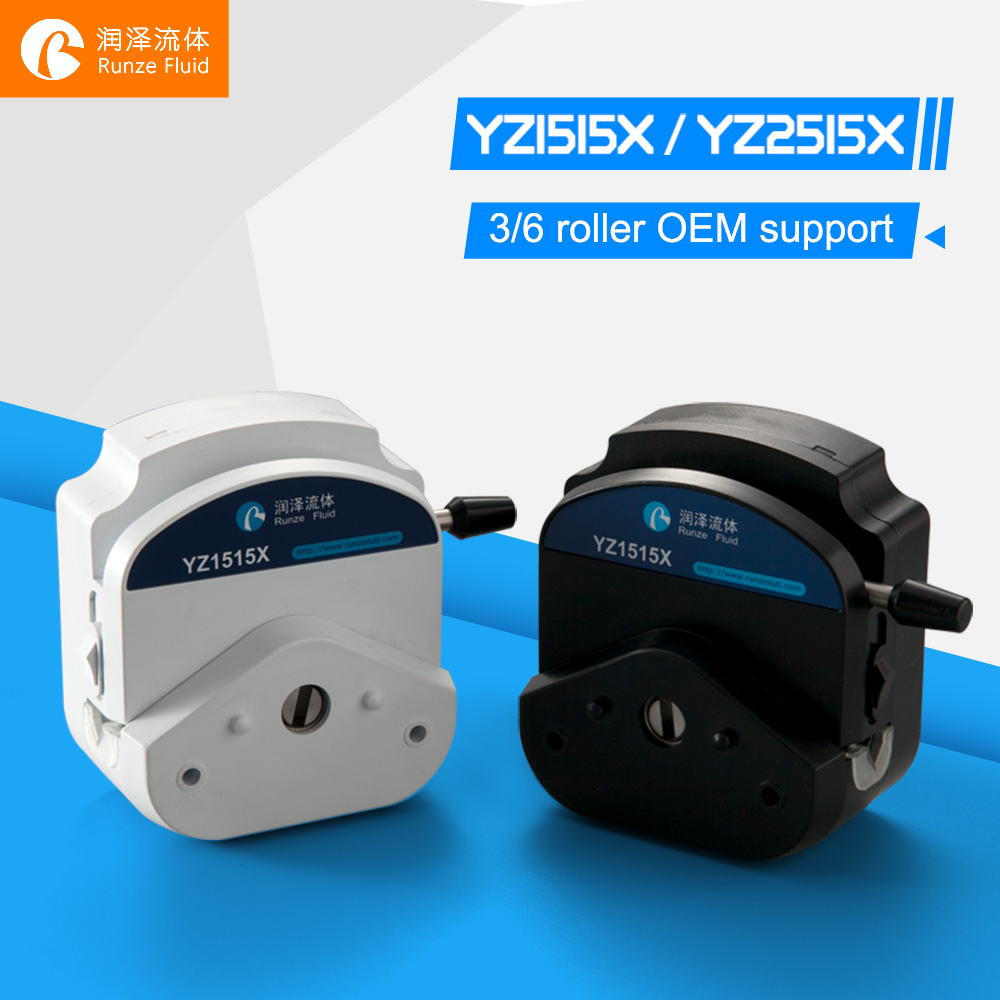 YZ1515X Medical Peristaltic Metering Pump Head Chemicals Fluid Dosing