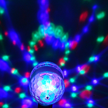 LED Holiday Lights Holiday Decor AC 220V 110V E27 Fairy Lamp RGB Colorful Fixtures Party 6W Wedding Magic Auto Stage Christmas