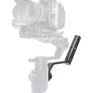 """Image 3 - กลับแบบพกพาขยายแขนยึด 1/4 """"สกรูสำหรับMOZA Air2 Gimbalสำหรับกล้องวิดีโออุปกรณ์เสริมMic"""
