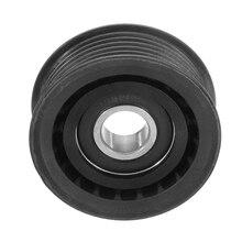 Car Belt tensioner Pulley Plastic Black for Mercedes W202 W203 W210 W211 W140 W220 W164 0002020019