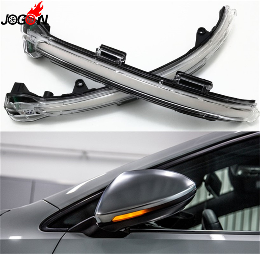 LED Side Wing Rearview Mirror Indicator Blinker Repeater Light Dynamic Turn Signal For VW Volkswagen Golf 7 VII MK7 MK7.5 Touran