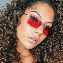 Fashion tiny narrow rectangle sunglasses women thin small sun glasses Brand Designer Vintage Glasses Lady Oculos De Sol Gafas стоимость