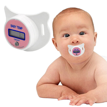 LCD Digital Baby Nipple Thermometer Medical Silicone Pacifier Children's Thermometer Health Safety Care Thermometer For Children baby health care children intelligent wearable electronic thermometer bluetooth smart baby monitor
