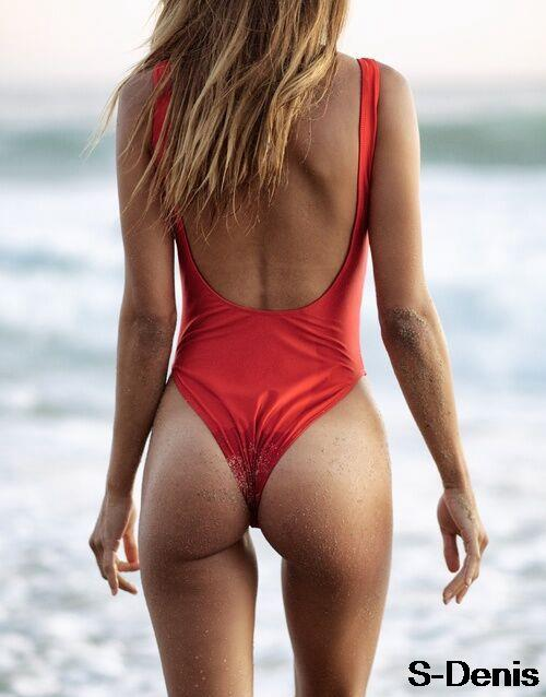Ladies Black Sexy Backless One Piece Swimsuit Monokini Thong Swimwear Women Bathing  Suit Match Biquini Maillot De Bain b6389541b300
