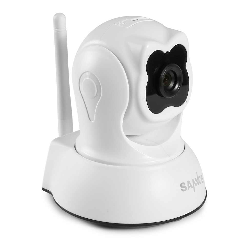 SANNCE كامل HD 720P الذكية كاميرا ip لاسلكية 1.0MP داخلي واي فاي كاميرا مراقبة كاميرا الأشعة تحت الحمراء قطع أمن الوطن مراقبة الطفل