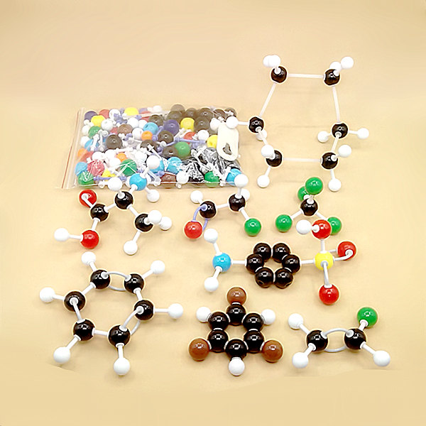 267pcs molecular model organic /inorganic molecular structure model kits Suitable for high school / college students / teachers molecular model kit lz 23177 chemistry organic molecule structure models set student and teacher estuches school free shipping