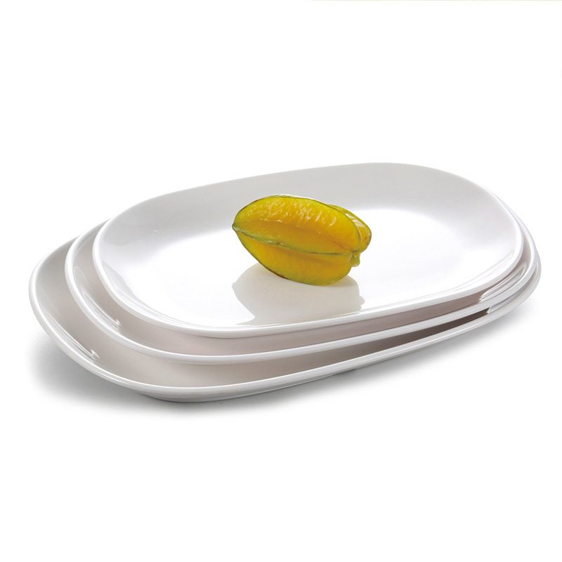 Flat Plates Dinner Plate Melamine Dishes Food Vegetables ...