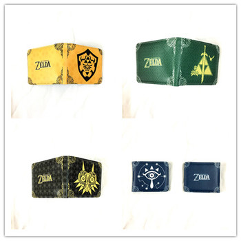 New game The Legend of Zelda wallet color short wallet cartoon coin wallet card bag