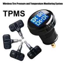 Tire Stress Monitoring System Automobile TPMS with four pcs Inner Sensors