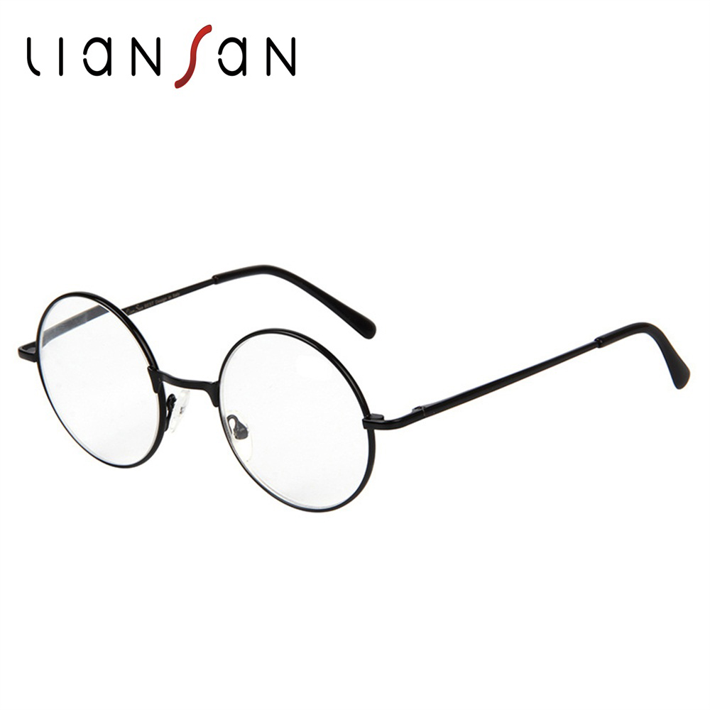LianSan Vintage font b Fashion b font Stainless Still font b Eyewear b font Reading Glasses