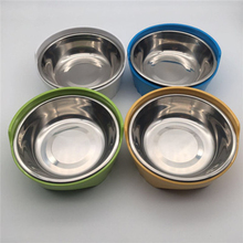Dog Food Bowls Pet Stainless  Bowl Steel 500g Container 50GP017