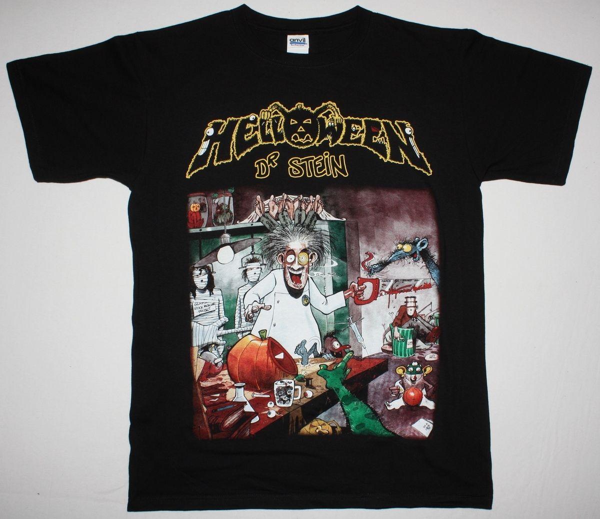 HELLOWEEN-Dr T-shirt-SIZES S to 7XL Stein-power metal-Gamma Ray-Stratovarius