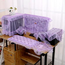 Protective cover desktop LCD one computer cover dust cover lace computer tablecloth household items
