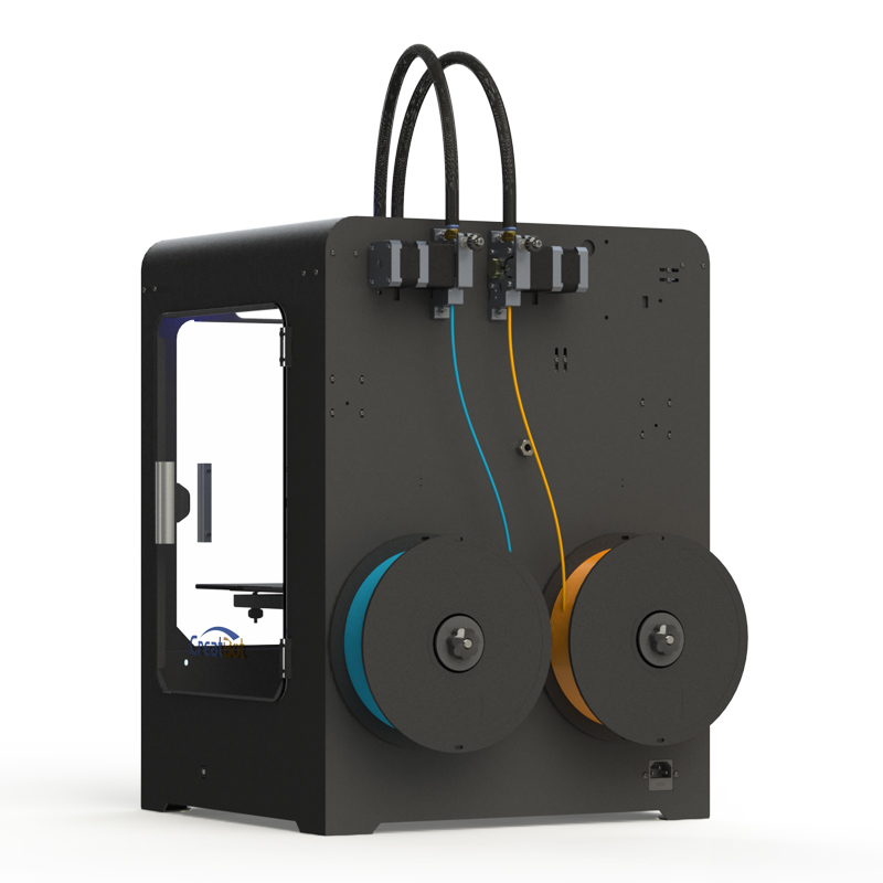 DX01 Single Extruder Build Size 300*250*300 mm Metal Frame 3D Printer - Office Electronics - Photo 3