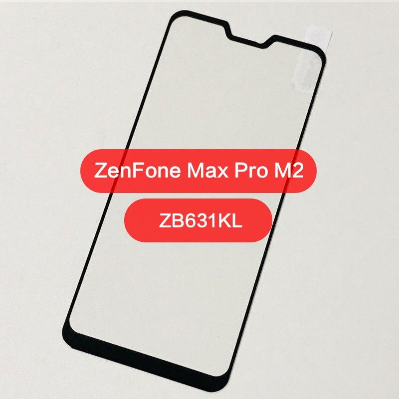 Asus Zenfone Max Pro M2 ZB631KL Tempered Glass Asus ZB633KL Screen Protector Asus Max Pro M2 ZB631KL ZB 631KL Full Cover Film 9H