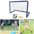 Niños Juguete Deporte Al Aire Libre de Fútbol Kit W/Puerta Gol Bola Inflable Herramienta de Movimiento Capacidad de Desarrollar Para Boy Equipo Portátil trabajo