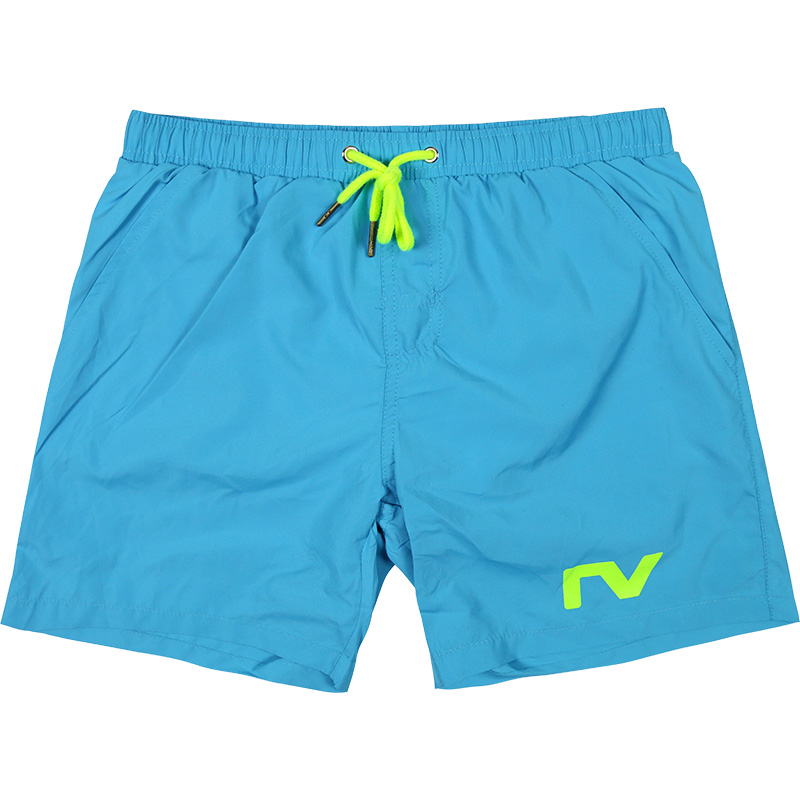Men's Sky Blue   Board     Shorts   Solid Surfing Swimwear Polyester Swim   Short   Swimsuit S-XL Beach Pants Man Surf   Shorts   Triangle Liner