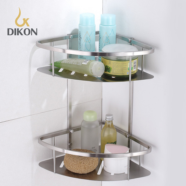 online shop dikon 304 stainless steel bathroom basket shelf