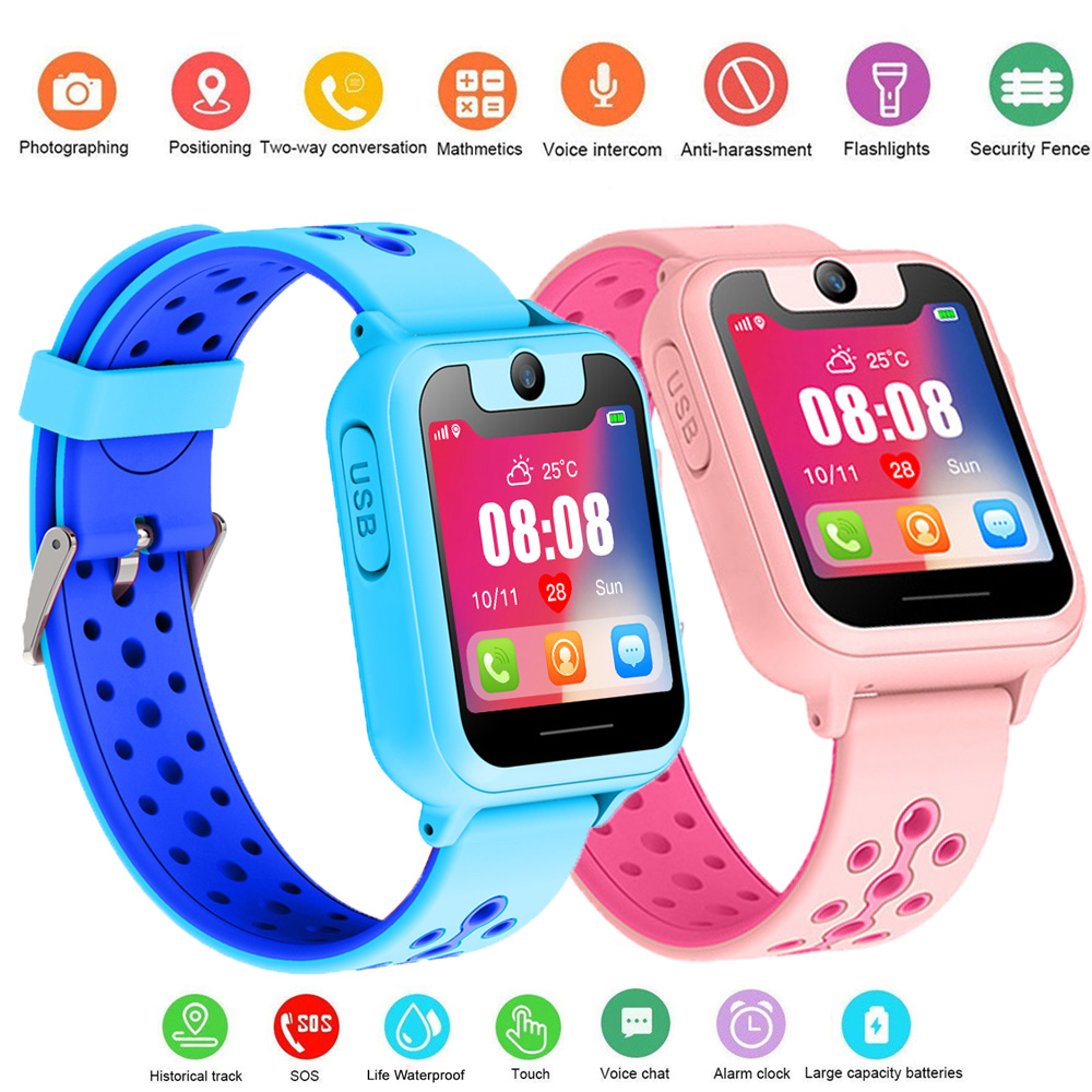 2019 New Smart Watch Locator Tracker Anti-Lost Safe SOS LBS Baby Watch Phone For IOS Android Kids Toy Gift2019 New Smart Watch Locator Tracker Anti-Lost Safe SOS LBS Baby Watch Phone For IOS Android Kids Toy Gift