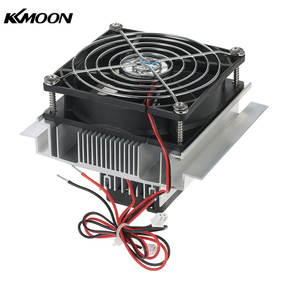 DIY Thermoelectric Peltier Refrigeration Radiator Semiconductor Cooling System Kit Cooler Conduction Module Fan цена