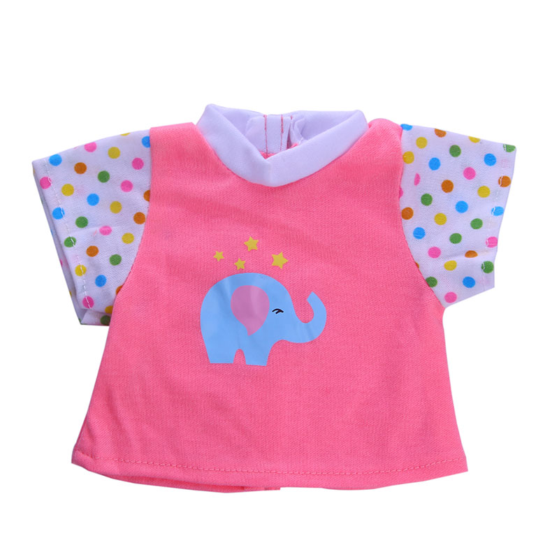 Cute Blue Elephant clothes Accessories Fit 43cm Zapf Baby Born Doll & 18inch American Girl Doll Clothes Children Gift n1414 christmas sweaters pant doll clothes wear fit 43cm baby born zapf 18 american girl doll clothes children best birthday gift