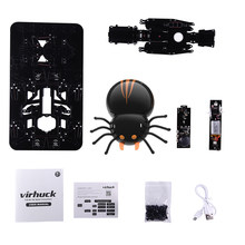 DIY F10 Spider RC Cars Intelligent Remote Insect Robot Kits Radio Control Cartoon Toys Remote Truck AU IT DE CN Stock selling(China)