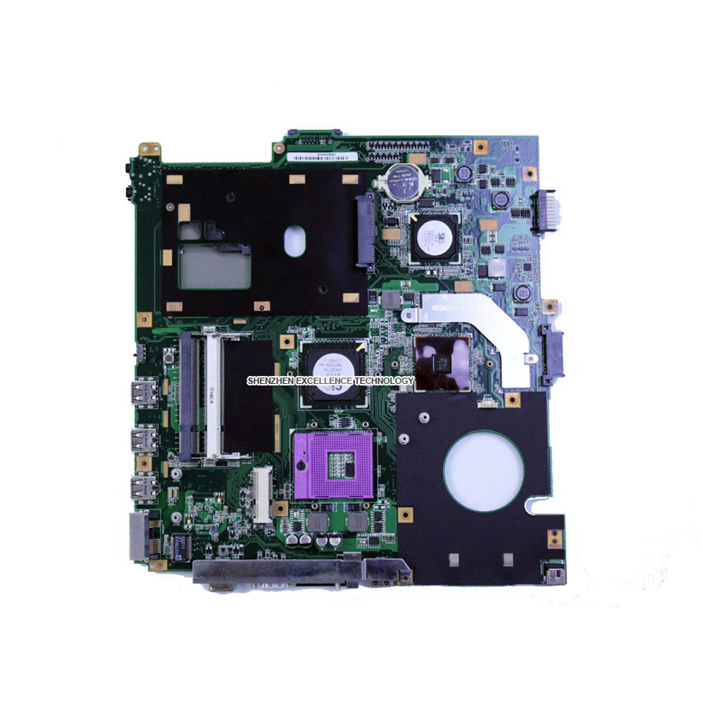 Original laptop motherboard For Asus X61S F50SL REV:2.1 Mainboard 100% fully tested & Working original new laptop motherboard for asus k52jc rev 2 1 ddr3 n11m ge2 s b1 mainboard