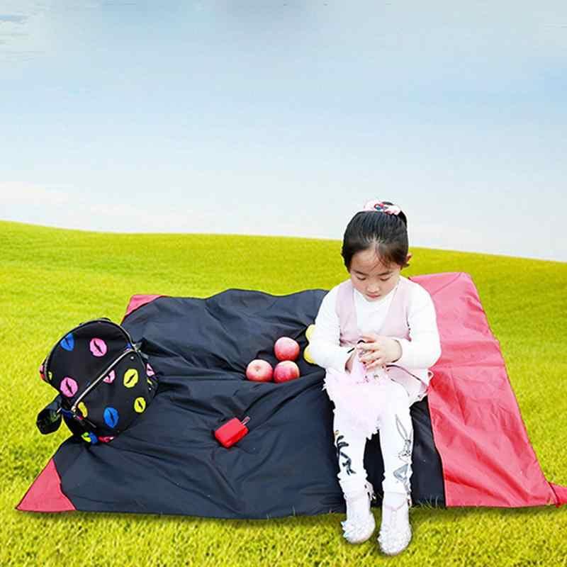 접이식 캠핑 피크닉 매트 휴대용 포켓 소형 방습 패드 담요 정원 방수 초경량 요가 야외 새로운
