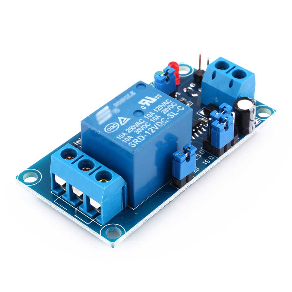 Dc 12v Delay Relay Switch Module Timer Normally Open Trigger Schematic Package Includes 1 X