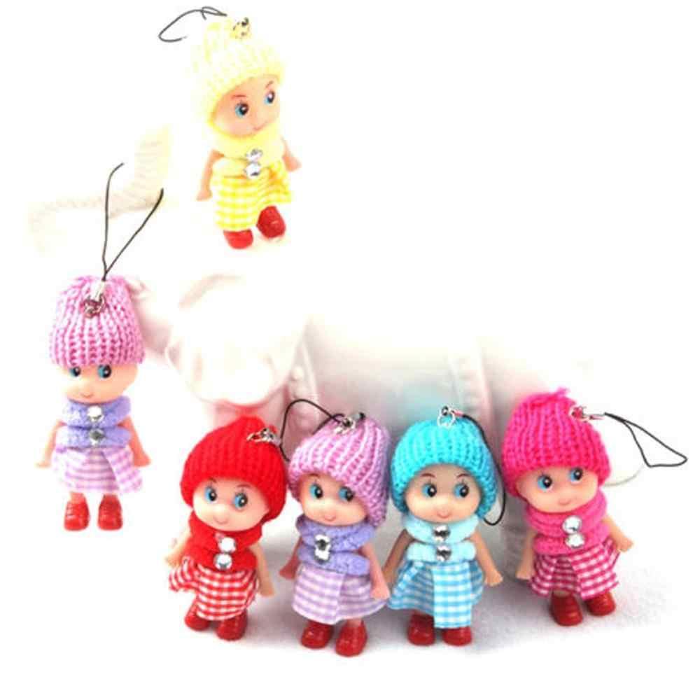 1ชิ้น2018ใหม่เด็กของเล่นนุ่มอินเตอร์แอคทีตุ๊กตาทารกของเล่นตุ๊กตามินิ8เซนติเมตรสำหรับสาวๆจัดส่งฟรี