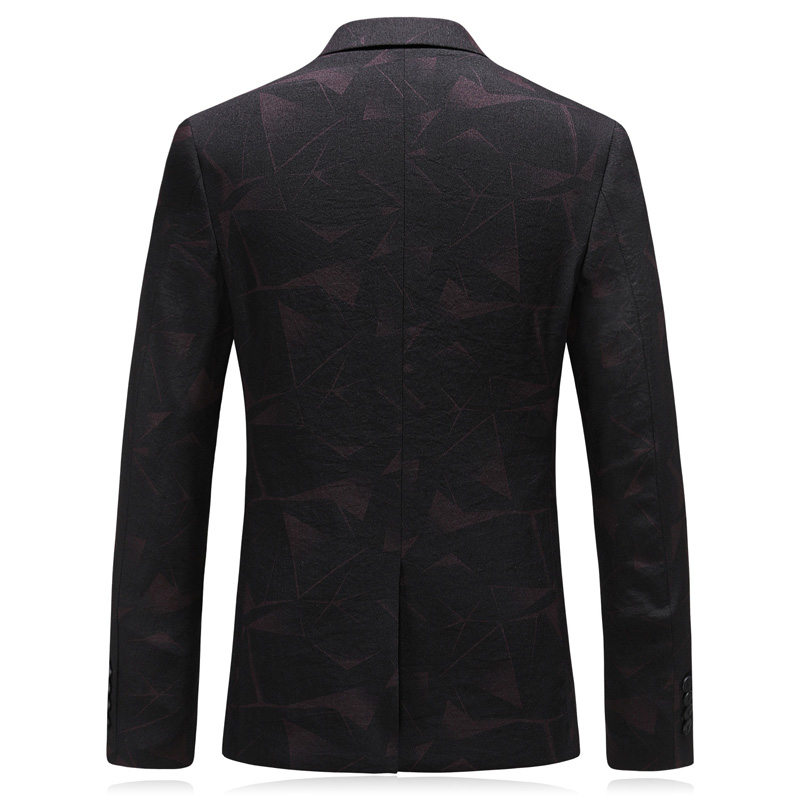 winter fashion print men blazer slim fit new brand single button men 39 s blazers and suit jackets plus size 4xl in Blazers from Men 39 s Clothing