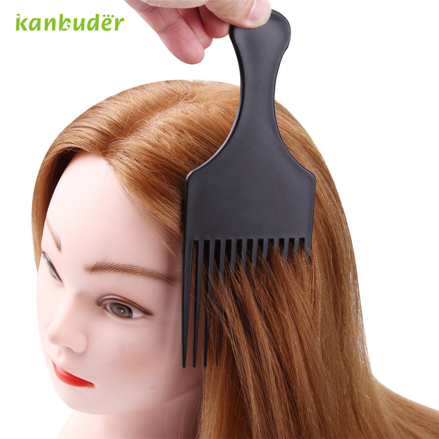 Kanbuder Pretty Dye Hair Brush Fashion Hairdressing Professional Hairdressing Pick Color Board Brand New High Quality Pretty 1pc
