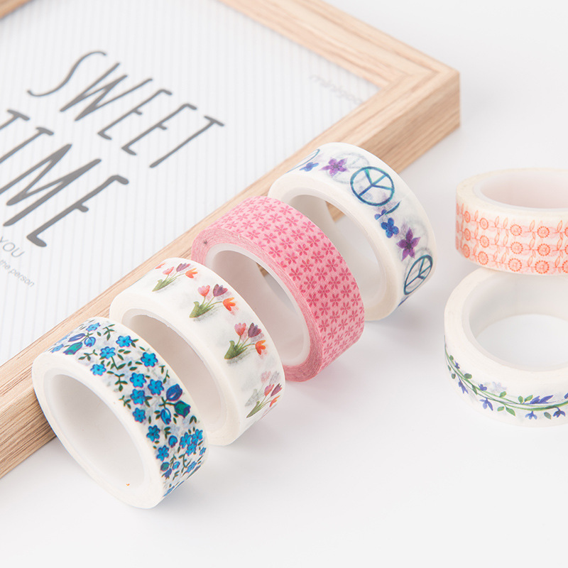 Washi Tape 15mm X 10m Art Supplies Umbrellas Collage Supplies