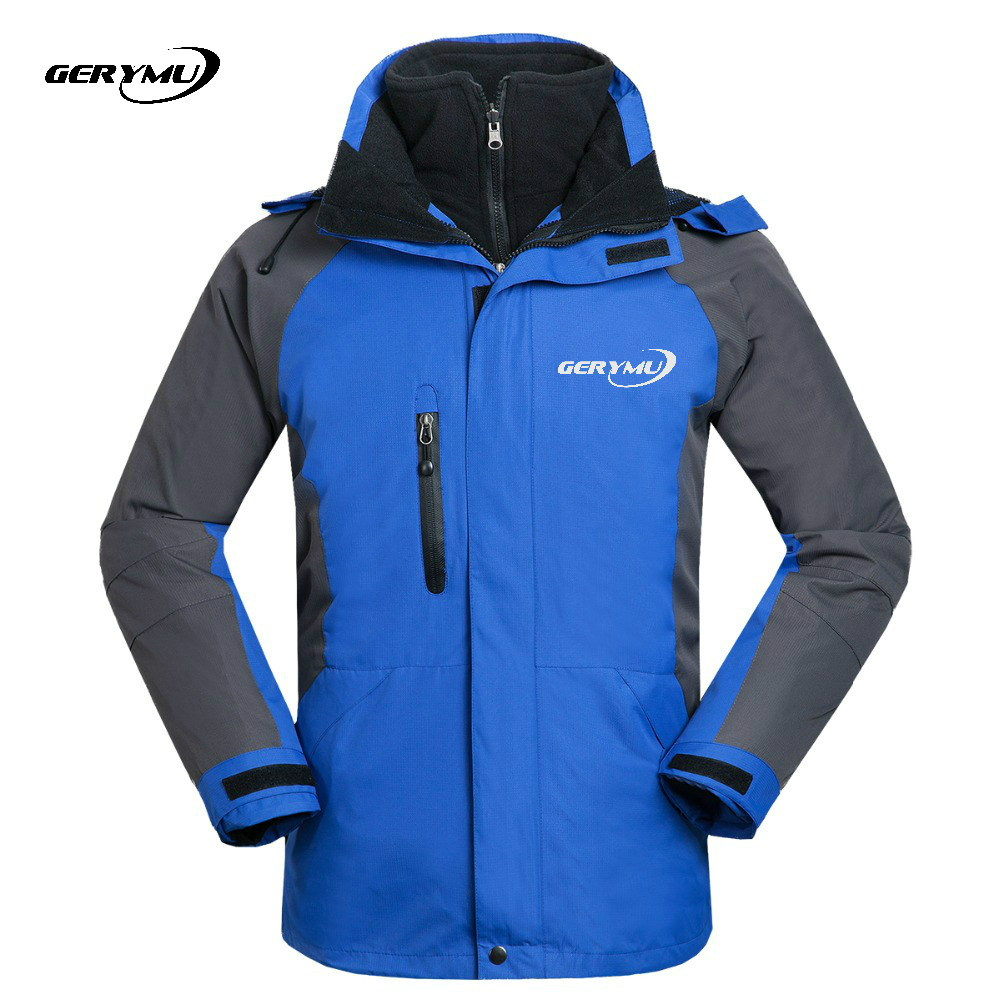 Winter Jacket Men Outdoor Snowboard Waterproof Hiking travel Hoodie Windbreaker Ski Coats Camping Wear 2in1 Outerwear asual Wear detector new waterproof windproof hiking camping outdoor jacket winter clothes outerwear ski snowboard jacket men