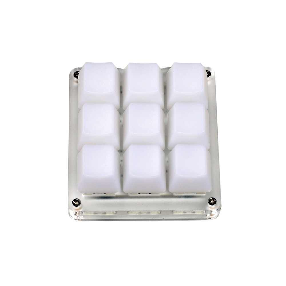 9 Key YMDK Programmable RGB Support Macro Function Type C MX Switches  Mechanical Keyboard Numpad For Gaming Photoshop Stocks