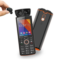 Original Phone SERVO R25 2.8inch Dual SIM Card Mobile Phone with Bluetooth 5.0 TWS Wireless Earphones Power Bank GPRS CellPhones