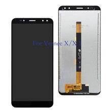 شاشة أصلية 6.0 بوصة لهاتف verny X LCD + شاشة لمس محول رقمي مجمع بديل لأجزاء إصلاح LCD verny X1