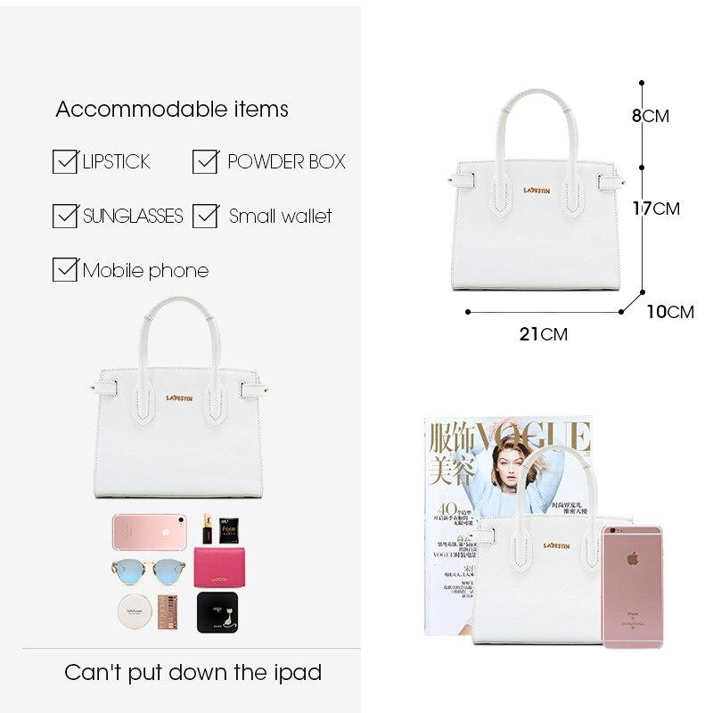 La festin women bag 2019 new simple leather handbag shoulder bag Fashion texture design-in Shoulder Bags from Luggage & Bags    3